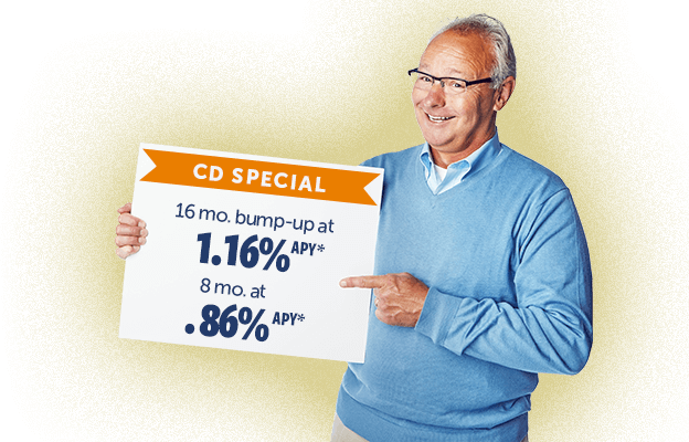 Are you looking for the best rate on your CD? Let us show you our new tool for your best rate!